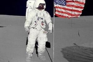 质疑美国宇航员登月 欺骗世界40年/美国没有登月