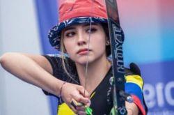 哥伦比亚射箭女神Valentina Acosta Giraldo爆红 3大绝美妆容曝光