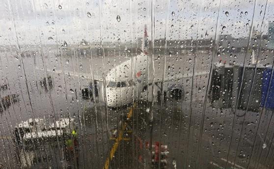 机场过水门是寓意