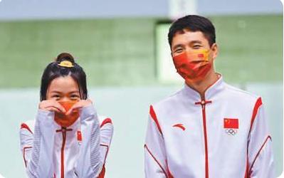 人民日报头版报道东京奥运会首金得主杨倩:因为热爱,所以坚持