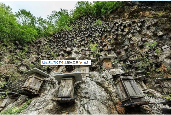 悬崖壁上700多个木箱里究竟有什么?