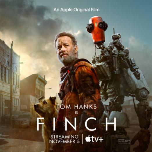 汤姆·汉克斯《芬奇》曝海报 人与机器人踏上旅程
