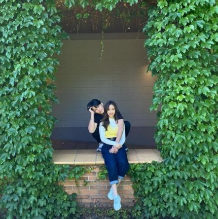 吴姗儒首度公开未婚夫照片 粉丝称赞男帅女美两人很般配