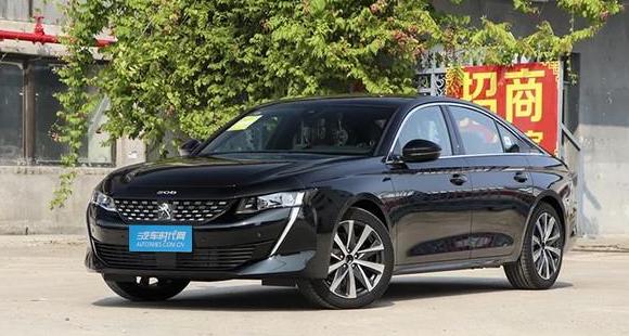 东风标致508L实车已到店 售价15.97-22.47万